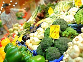 Der Erreger könnte sich auf Gemüse befinden.
