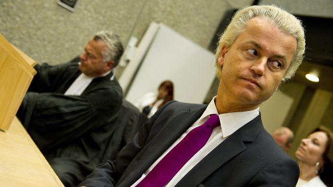 """Wilders vor Gericht: """"Ich sage nur die Wahrheit."""""""