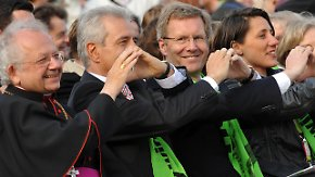 Prominenz am Elbufer: Kirchentag in Dresden eröffnet