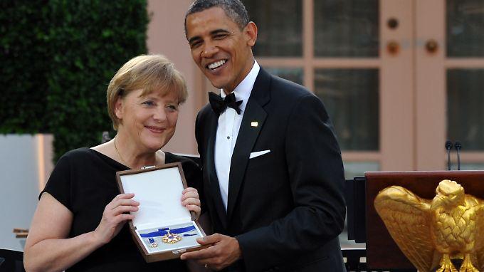 """""""Jenseits aller Vorstellungskräfte"""": USA ehren Merkel mit Freiheitsmedaille"""