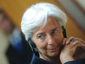 Brauchen die Banken mehr Geld? IWF-Chefin Christine Lagarde meint Ja.