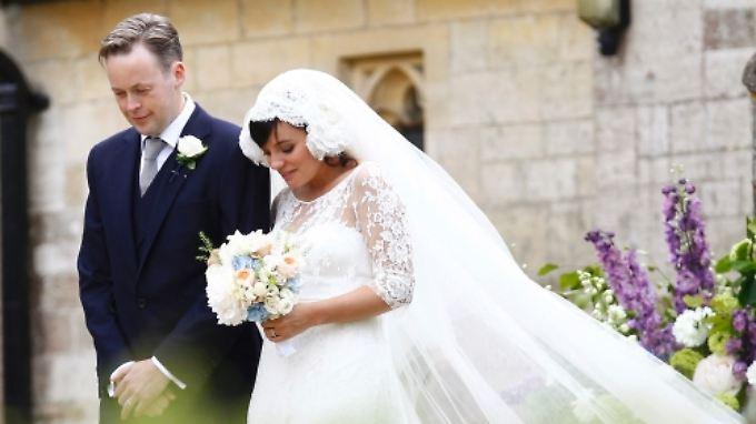 Eine englische Hochzeit auf dem Land:
