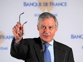 Frankreichs Zentralbankchef Christian Noyer versteht die Welt nicht mehr.