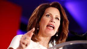US-Präsidentenwahlkampf der Republikaner: Bachmann und Palin laufen sich warm