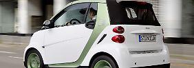 E-Autos sind leise, aber nicht viel leiser ...