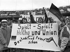 Hertha und Union: eine Geschichte für sich.
