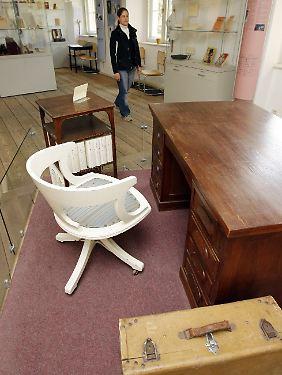 Tucholskys Möbel aus dem schwedischen Exil.