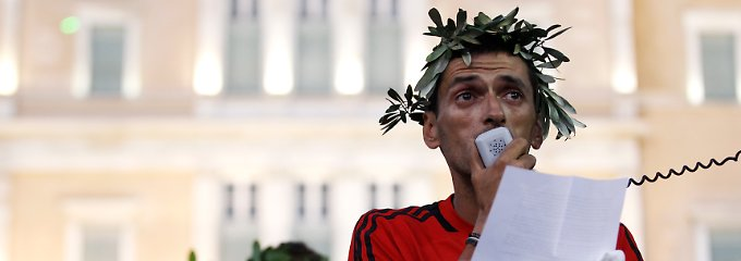Griechenland hält Amerikanern und Europäern nur den Spiegel vor.