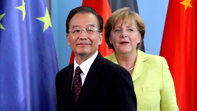 Wen Jiabao in Berlin: Deutsch-chinesisches Geschäft blüht