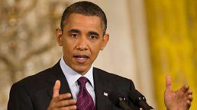 Obama hofft das Richtige zu tun.