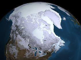 Das Eis der Arktis schmilzt. Selbst tiefgreifende Maßnahmen zum Klimaschutz können den bereits begonnenen Klimawandel allenfalls bremsen, aber nicht mehr stoppen.