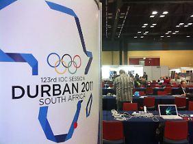 Maximal 110 IOC-Mitglieder stimmen in Südafrika über den Olympia-Ausrichter 2018 ab.