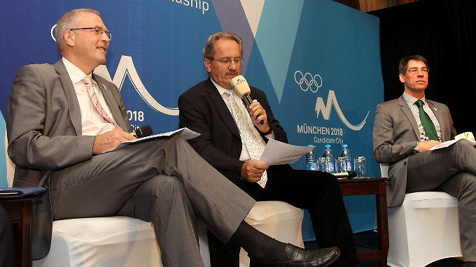 International haben die Münchner um Bewerbungschef Bernhard Schwank (r.) eine hervorragende Figur gemacht.