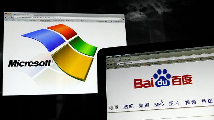 Fur englischssprachige Suchanfragen soll Baidu künftig auf Microsofts Bing zurückgreifen. In welchem Umfang das genau geschehen soll, ist unklar.