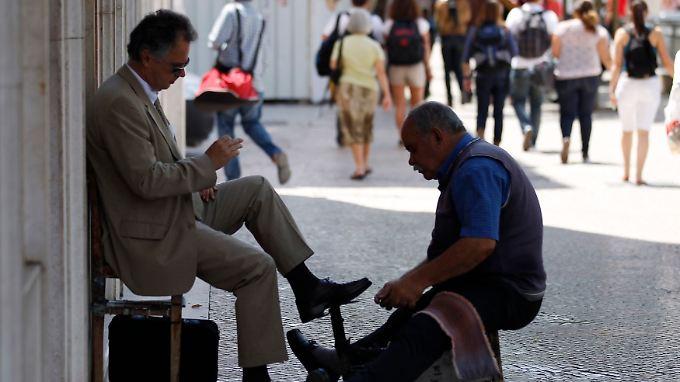 Auch wenn große Teile der Bevölkerung schwer zu kämpfen haben, will sich Portugal nicht mit Griechenland vergleichen lassen.
