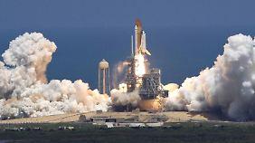 """Am 8. Juli 2011 startete die Raumfähre """"Atlantis"""". Es war der letzte Flug eines Space Shuttle."""