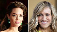 Dank Film, Parfüm und Mode ganz vorne: Jolie (l) und Parker.
