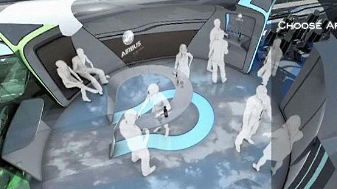 Fliegen in der Zukunft: Airbus entwickelt Luxus-Kabine
