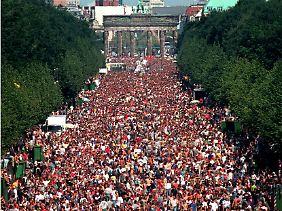 Die ursprüngliche Heimat der Parade: Der Tiergarten in Berlin.