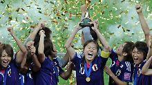 Homare Sawa wurde auch zur Spielerin des Turniers gewählt.