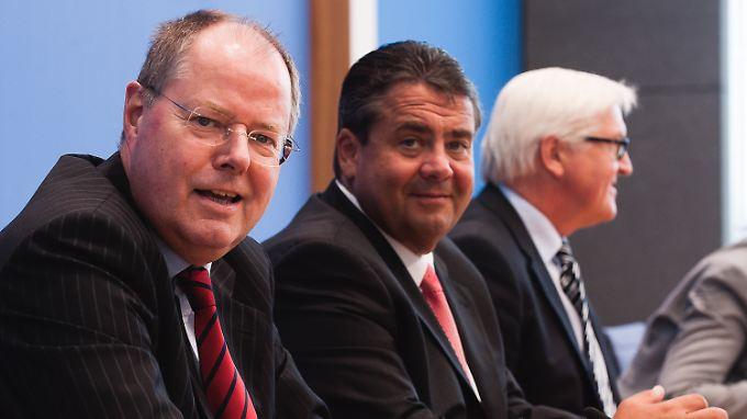 Die SPD will Merkel helfen - denn allein, so die Botschaft, schafft die Kanzlerin es nicht.