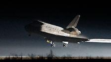 """Die letzte Landung: Die """"Atlantis"""" ist zurück"""
