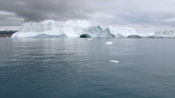Über Jahrzehnte hinweg lagerten sich die Schadstoffe im Eis ab.
