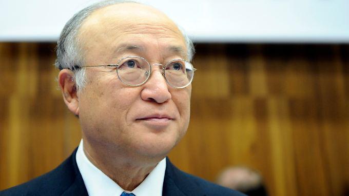 Der IAEA-Chef, der Japaner Amano, will sich ein Bild von der Lage in Fukushima machen.
