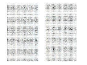 Der Beginn der Unendlichkeit: die ersten paar Nachkommastellen von Pi.