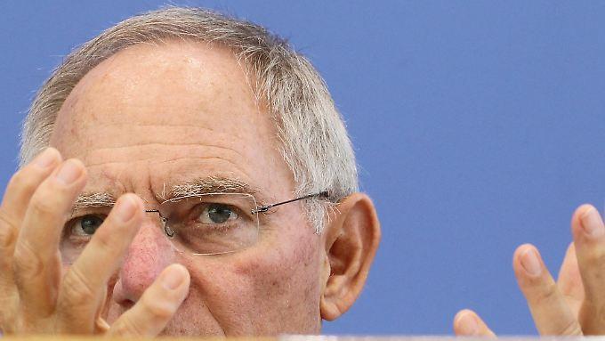 Schäuble will stärkere Bandagen für Problemstaaten.