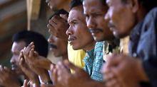 Sie werden zwar nicht aufgenommen, doch werden die Flüchtlinge in Indonesien und Malaysia auch nicht ausgewiesen.