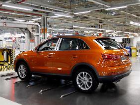 Ein Audi Q3: Die Premiumtochter aus Ingolstadt macht VW derzeit richtig Freude.
