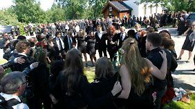 In Nesodden wird die 18-jährige Bano Rashid beigesetzt.