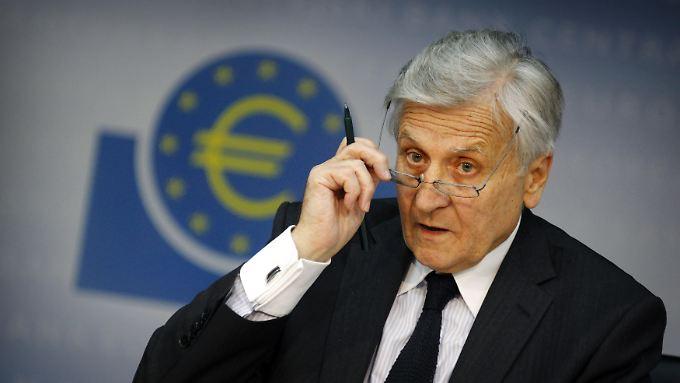 """Die Notenbank beobachte die Entwicklung der Preise weiter """"sehr genau"""", sagt EZB-Präsident Jean-Claude Trichet"""