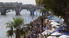 Sand und Strand statt Autos und Asphalt: Paris wird zum Badeort