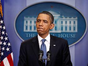 Barack Obama: Die Ansagen kommen jetzt aus Peking (Archivbild).
