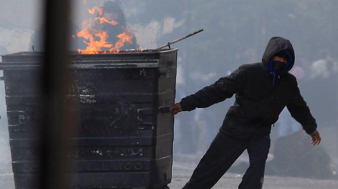 Ein Jahr vor den Olympischen Spielen: Anarchie wütet in London