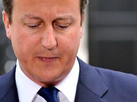 Premierminister David Cameron will mehr Ethik und Moral.