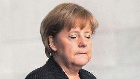 Nervosität und Panik: Kanzlerin schweigt zur Börsenlage