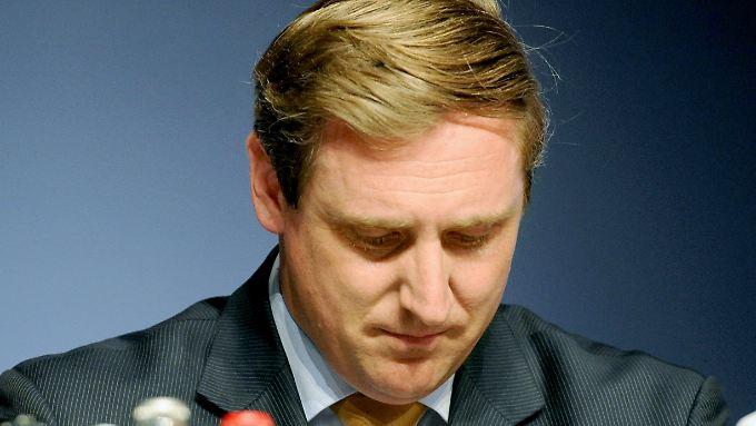Von Boetticher ist am Ende seiner politischen Karriere.