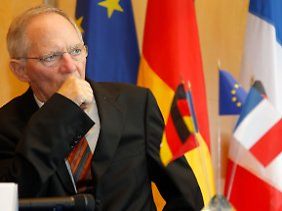 Finanzminister Schäuble meldet Bedenken an.
