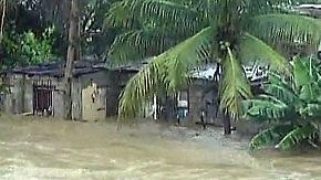 Hurrikan bald erneut heraufgestuft?: Irene verwüstet Bahamas