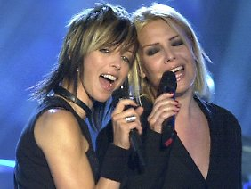 """Mit Nena sang Kim Wilde 2003 """"Anyplace, Anywhere, Anytime""""."""