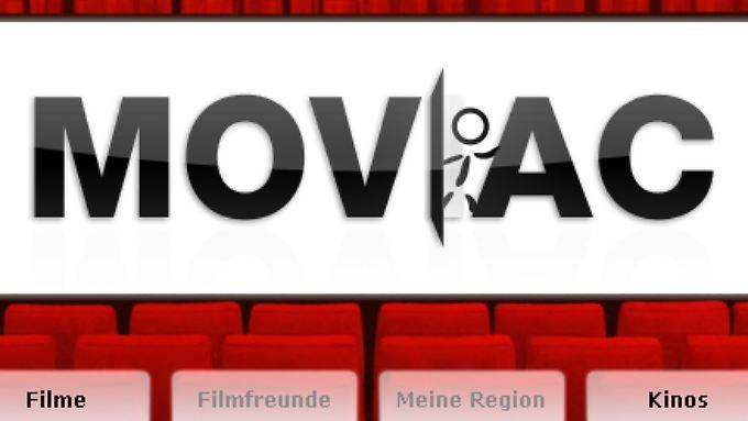 Moviac arbeitet mit Kinos und Filmverleihern zusammen und hat schon über 100 Kinos und 1200 Filme im Angebot.