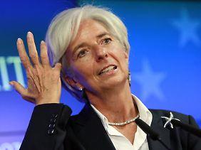 Christine Lagarde drückt auf's Tempo.