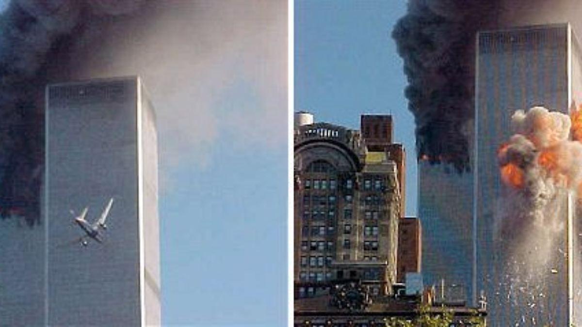 der 11 september 2001 als die t rme fielen n. Black Bedroom Furniture Sets. Home Design Ideas