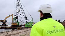 Die Ostseepipeline geht in Betrieb.