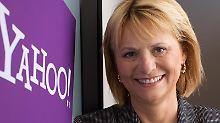 Auf dem Chefposten noch ganz freundlich: Carol Bartz