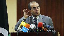 Dschibril warnt die Libyer: Wir haben noch nicht gewonnen.