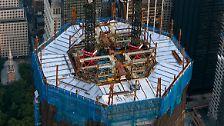 Ground Zero ist wieder lebendig: One World Trade Center wächst